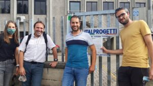 Two ongoing secondments from Universitat Autònoma de Barcelona to Italprogetti Spa