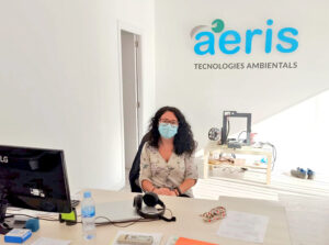 Chiara Pasqualetti is now seconded in AERIS Tecnologías Ambientales S.L.