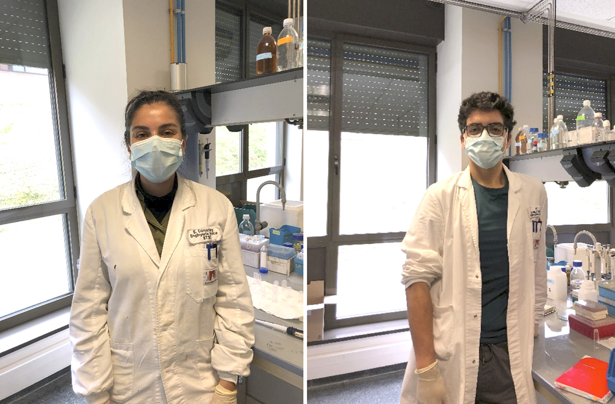 PhD students Carolina Fernández and Diego Maureira are now in Universitat Autònoma de Barcelona
